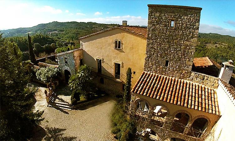 La masia can olle de la guardia casa rural catalunya - Casa rural catalunya piscina interior ...